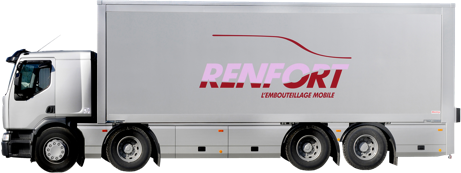 Camion Renfort embouteillage mobile