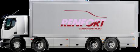Camion Renfort embouteillage mobile
